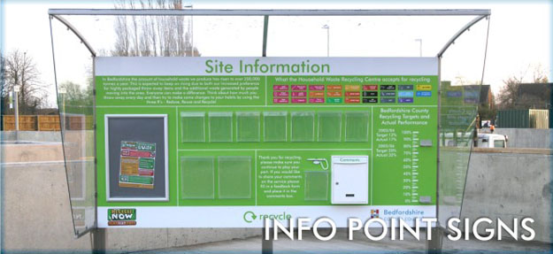 INFORMATION POINT SIGNS