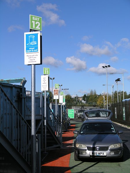 BEDFORD HWRC INTERCHANGEABLE BAY SIGNS